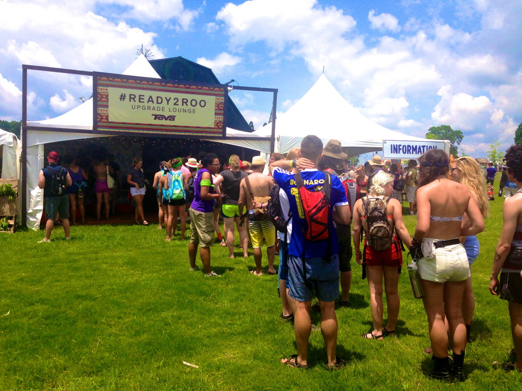 Teva Event Marketing at Bonaroo and Experiential Marketing