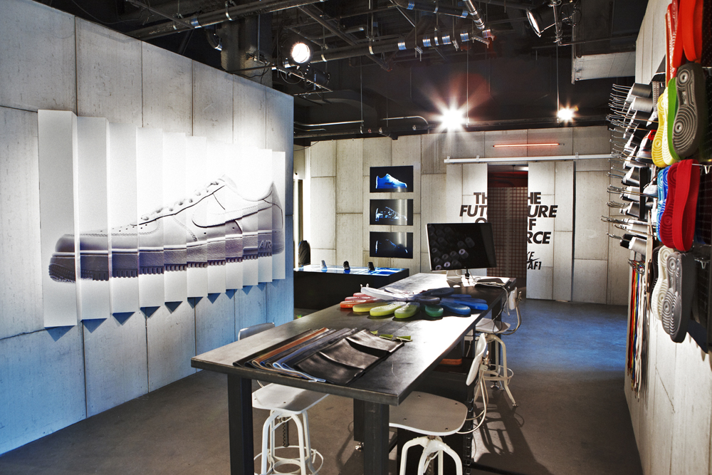 Nike S Coolest Pop Up Shops And Retail Environments Becore