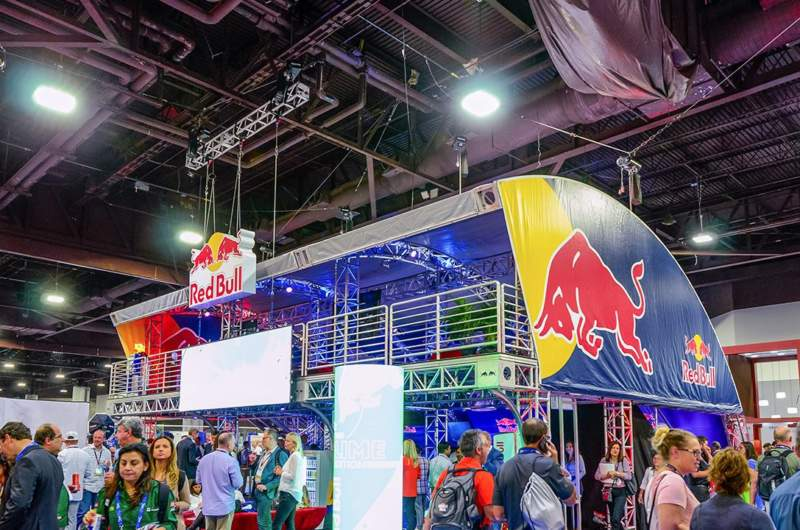 Red Bull NACS Experiential Marketing Grand Activation