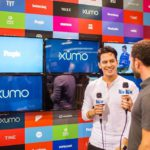 Interviews happening at the xumotv pallet booth at vidcon wehellip