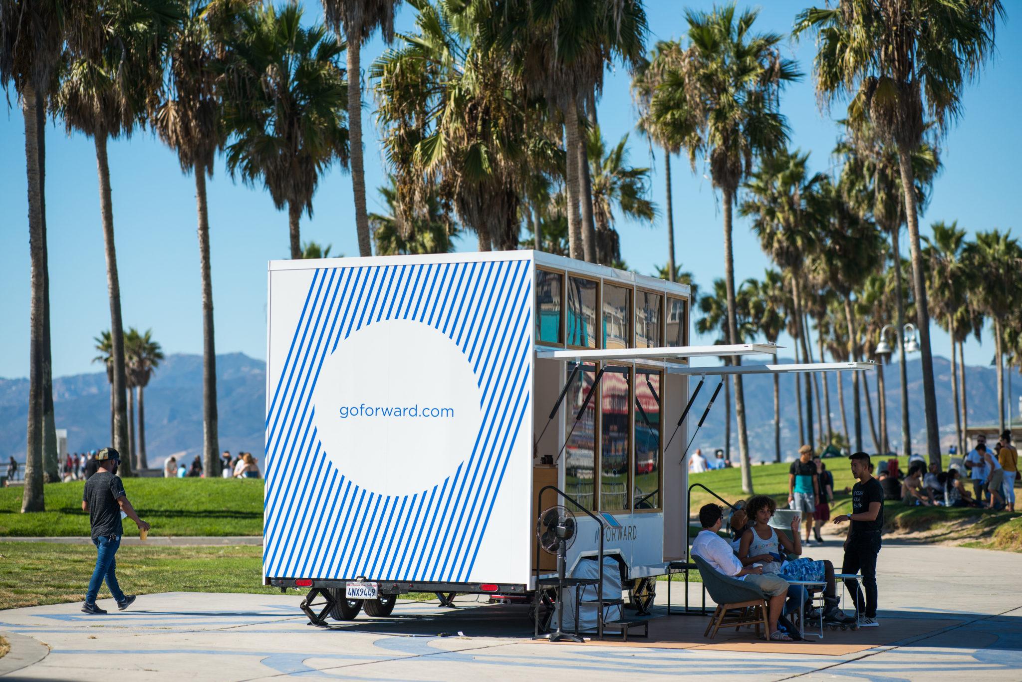 Forward Medical Healthcare Startup Subscription - Google - Venice Beach, Experiential Marketing Agency