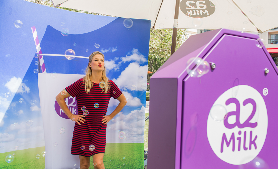 A2 Milk - Experiential Marketing Activation - Los Angeles, California
