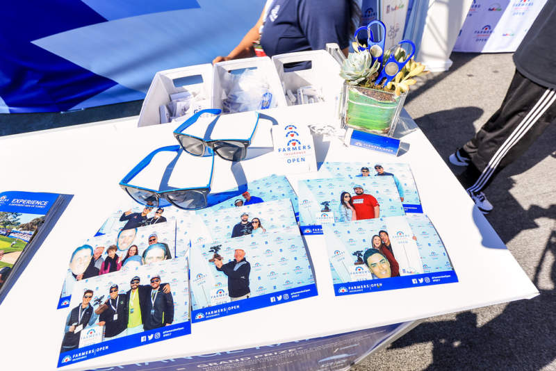 Product Sampling and Free Swag at Experiential Marketing Activation