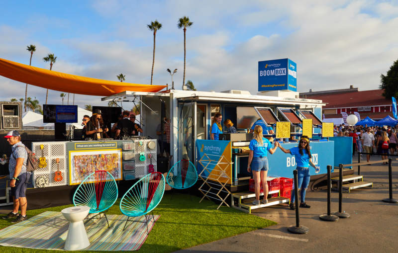 Synchrony at KAABOO Festival - Experiential Marketing