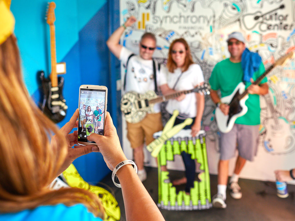 Synchrony Experiential Marketing Activation