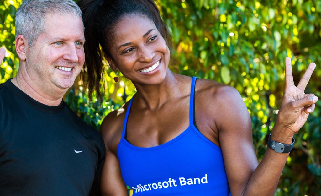 Microsoft Band Launch LA