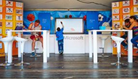 Risk and Microsoft partner up with the Special Olympics