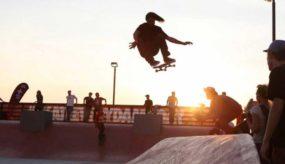 Nike Skateboarding Barge Skate Park in New York City, NYC