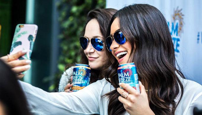 Palm Breeze Experiential marketing campaign activation