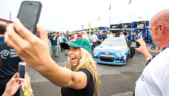 Windows 10 Experiential Marketing Activation at Nascar
