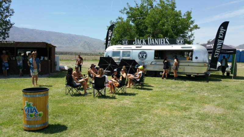 Jack Daniels Airstream Pop-Up Shop and Experiential Activation