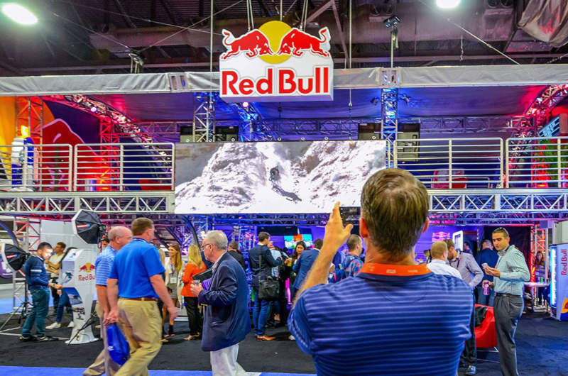 Experiential Marketing for Red Bull at NACS2016