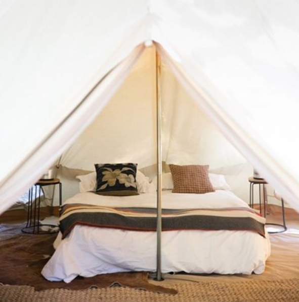Welcome to BaseCamp Glamping Tents