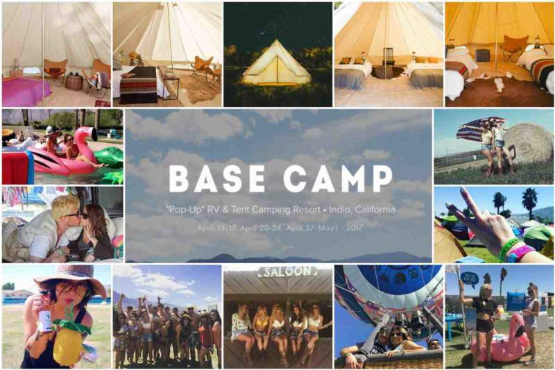 We had a Blast at Base Camp during Coachella Music Festival