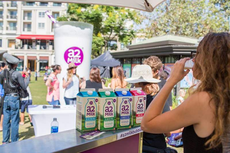Experiential Marketing Campaign for A2 Milk