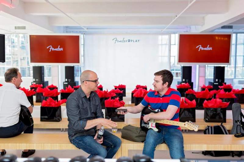 Fender Guitar Experiential Marketing Activation and Brand Activations