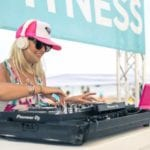 Roxy Fitness Experiential Marketing Activations in Huntington Beach, California