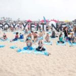 Roxy Fitness Experiential Marketing Activation in Huntington Beach, California