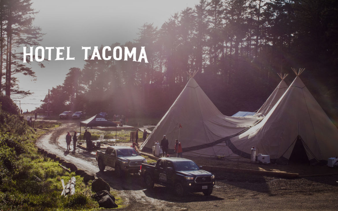 Hotel Tacoma - Experiential Activation for Toyota brought to you by BeCore Experiential Marketing Agency in Los Angeles, California and New York, NY
