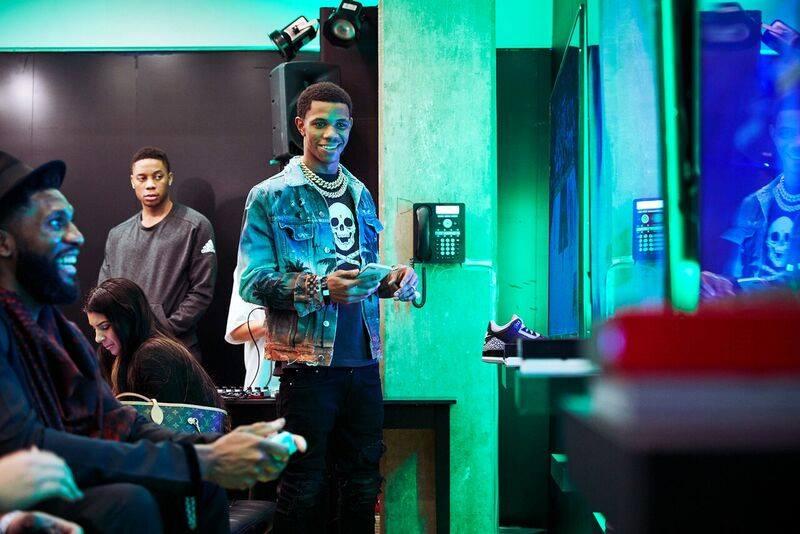 Microsoft XBOX Barbershop - NBA All-Star Weekend Experiential marketing agency based in Los Angeles, California