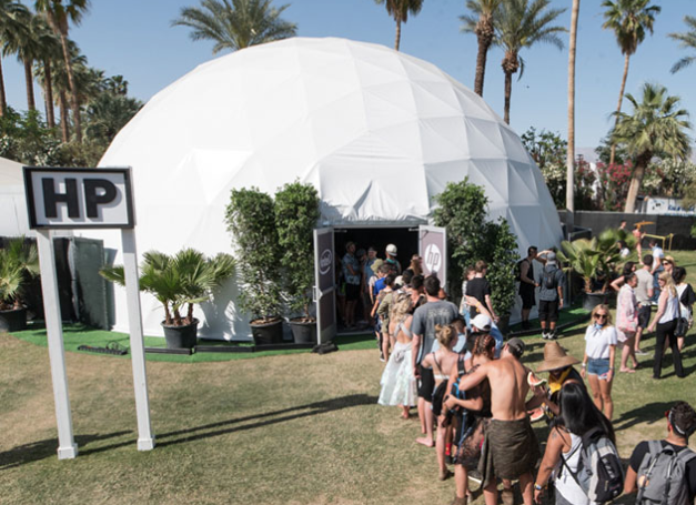 HP Experiential Marketing at Coachella 2018
